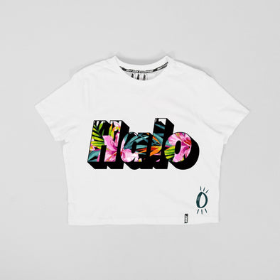Built Up North x Halo Lotus Crop Tee
