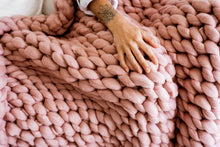 Load image into Gallery viewer, GIANT KNITTED THROW WORKSHOP 28/3/2021 1pm-4pm Art Space Collective