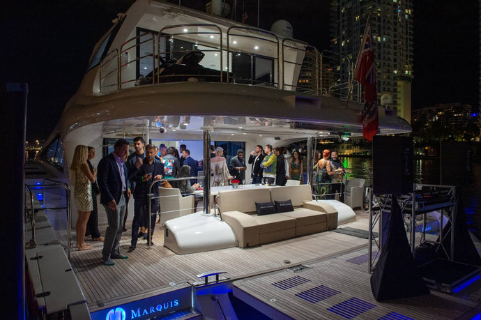 Haute Living Hosts Private Yacht Cocktail Art Basel, Alongside Sunreef Yachts & Avant Gallery