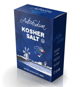 Italian Kosher Table Salt 3 lb / 1.36 Kg