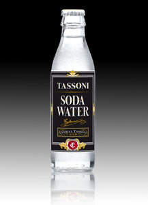 Tassoni Soda Water 25 pack - Tita Italia