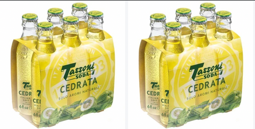 Tassoni Cedrata Soda 12-Pack    FREE DELIVERY with code      Tassonideal