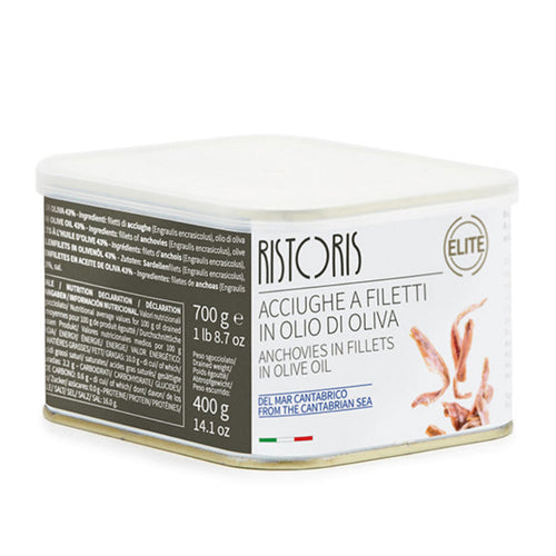 Ristoris Anchovies in Fillets Cantabrico in Olive Oil 1lb 8.7oz / 700gr