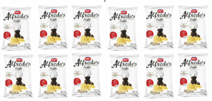 Alfredo's Black Truffle Potato Chips Pack of 12 (1.23 oz each)