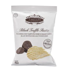 Tartufi Jimmy Black Truffle & Sea Salt  1.59 oz / 45gr
