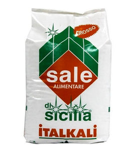 Italian Coarse Salt from Petralia, Sicily