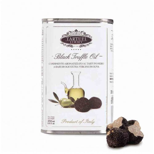 Black Truffle Extra Virgin Olive Oil Tin (8.45 oz) - Tita Italia