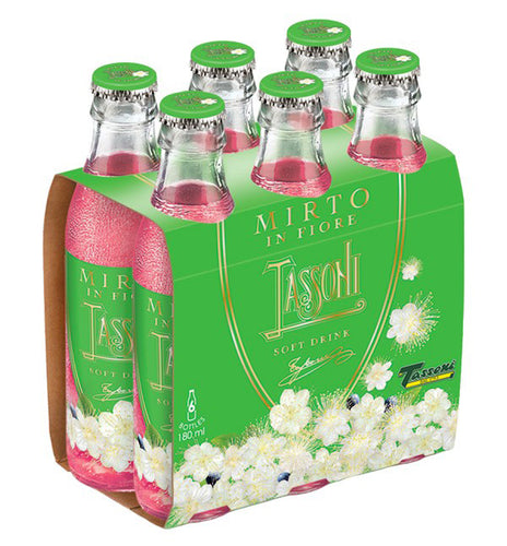 Tassoni Mirto In Fiore Soda 6-Pack - Tita Italia