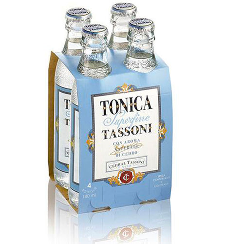 Tassoni Tonica Superfine - Italian Tonic Water - Tita Italia