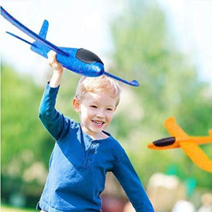 Plastic Flying Glider Airplane