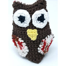Load image into Gallery viewer, Crochet Bath Mitt - Owl