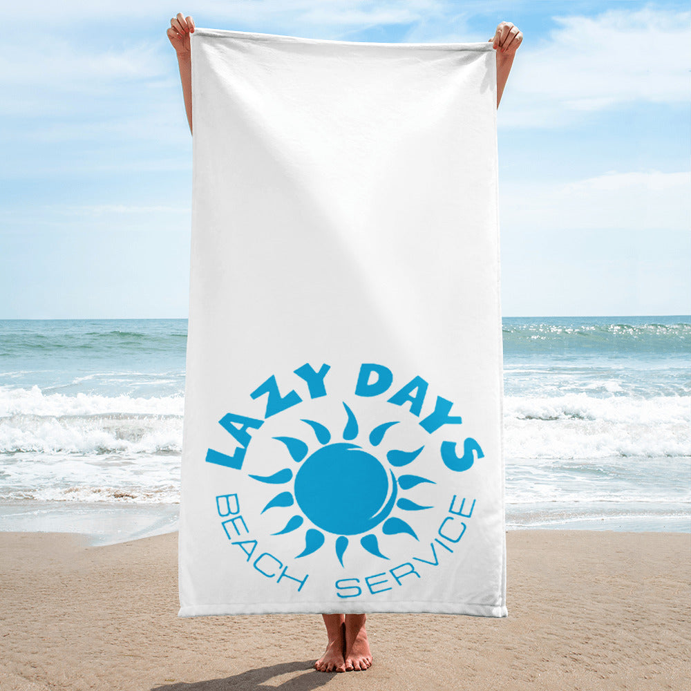 Lazy Days Beach Towel - New