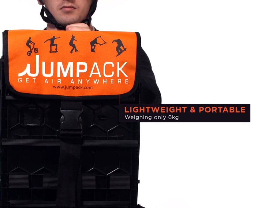 Jumpack portable ramp for bmx scooters mtb