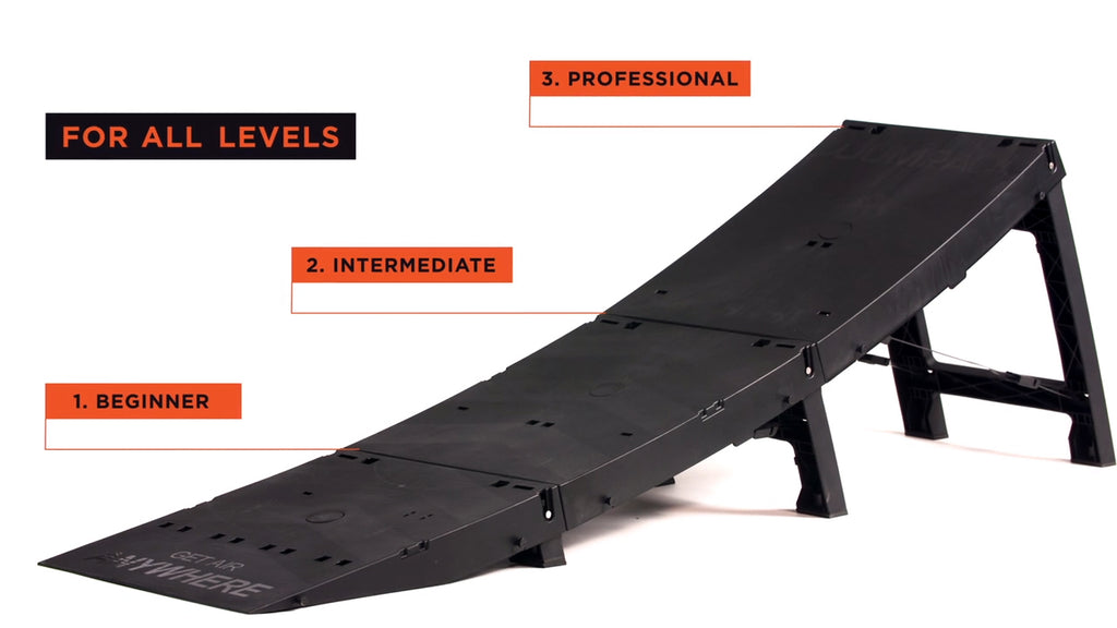 Jumpack ramp for coaching and coaches