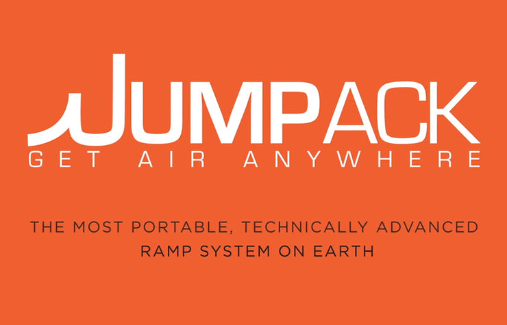 GET AIR ANYWHERE Jumpack 'Pro' 3 Stage Jump Ramp