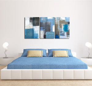 3 Panel Abstract Canvas Art Prints 002 (1)