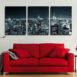 3 Piece New York City Building Wall Art Picture Canvas Print Painting-103 (3)