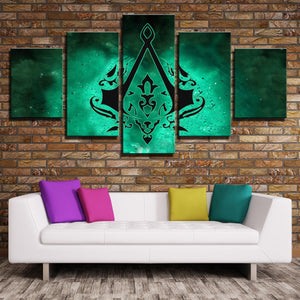 5 Panel Assassins Creed Canvas Print Wall Art Decor Picture-221 (3)