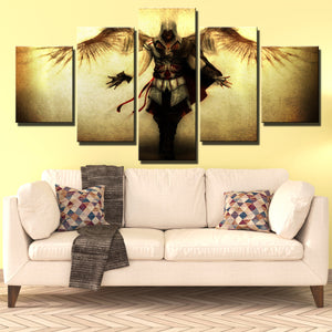 5 Panel Assassins Creed II Ezio Canvas Print Wall Art Decor-220 (4)
