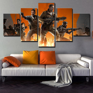 5 Panel Call of Duty Black Ops 3 Canvas Art Pictre Print Poster-208 (1)