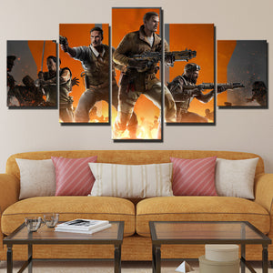 5 Panel Call of Duty Black Ops 3 Canvas Art Pictre Print Poster-208 (3)