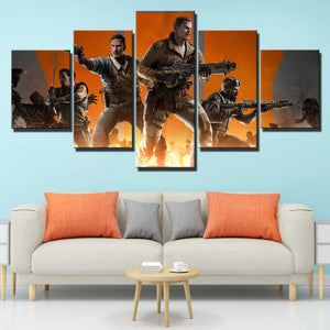 5 Panel Call of Duty Black Ops 3 Canvas Art Pictre Print Poster-208 (4)