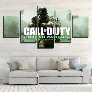 5 Panel Call of Duty Canvas Print Picture Poster Art-209 (4)