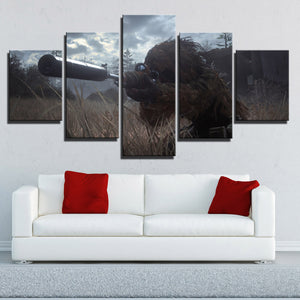 5 Panel Call of Duty Modern Warfare Sniper Print Art Canvas Picture Poster-207 (4)