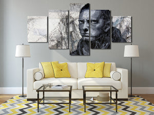 5 Panel Hip Hop Rap Boy Slim Shady Canvas Print Art-047 (3)