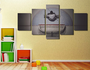 5 Panel Hockey Goalie Canvas Prints Poster Picture-062 (3)