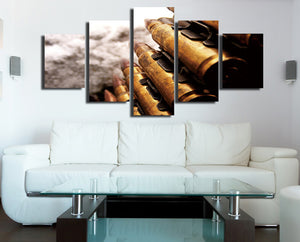 5 Panel Modern Painting Bullet Canvas Prints Picture-074 (3)
