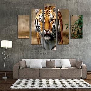 5 Panel Modern Prints Tiger Painting Canvas Wall Art -034 (3)