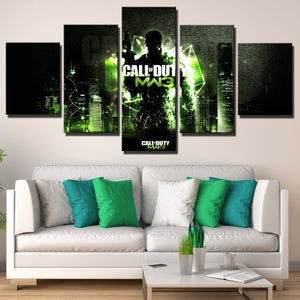 5 Panel Modern Warfare 3 Game Canvas Art Print Picture Poster-210 (1)