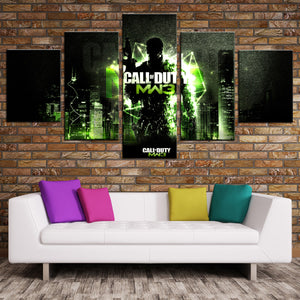 5 Panel Modern Warfare 3 Game Canvas Art Print Picture Poster-210 (2)