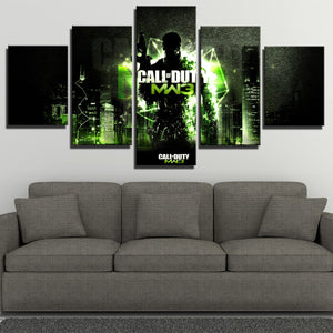5 Panel Modern Warfare 3 Game Canvas Art Print Picture Poster-210 (3)
