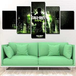 5 Panel Modern Warfare 3 Game Canvas Art Print Picture Poster-210 (4)
