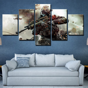 5 Piece Call of Duty Black Ops 2 Print Pianting Canvas Picture Wall Art-203 (2)