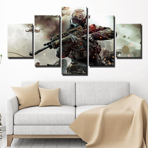 5 Piece Call of Duty Black Ops 2 Print Pianting Canvas Picture Wall Art-203 (4)