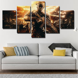 5 Piece Call of Duty Black Ops II Painting Art Canvas Print Wall Picture-202 (2)