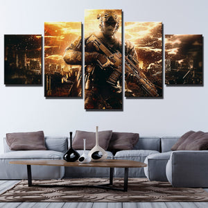 5 Piece Call of Duty Black Ops II Painting Art Canvas Print Wall Picture-202 (3)
