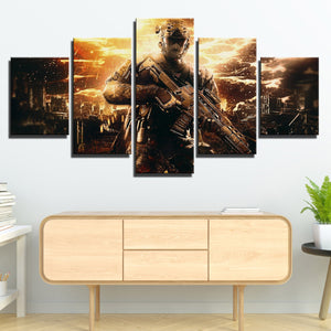 5 Piece Call of Duty Black Ops II Painting Art Canvas Print Wall Picture-202 (4)