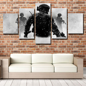 5 Piece Call of Duty MW3 Canvas Print Decor Painting Wall Art Picture-211 (2)