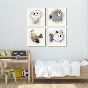 Stone Fish Canvas Wall Art Prints-005 (4)