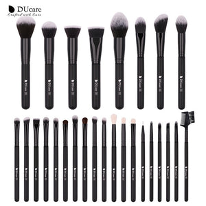 """DUcare"" Make up Brushes Set With Case"