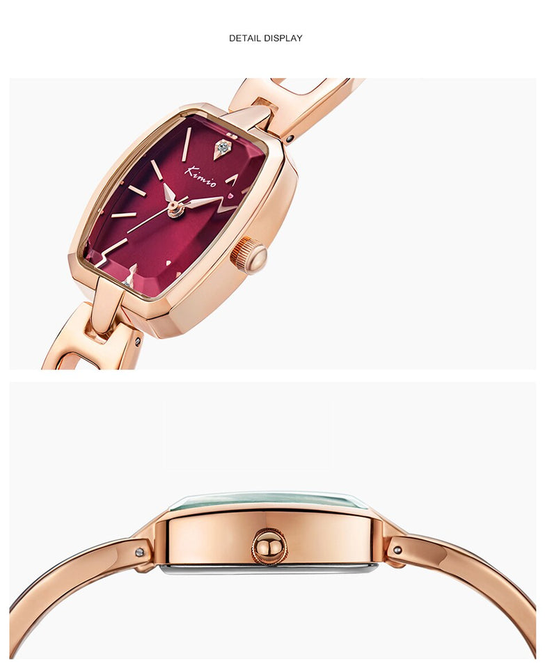Luxury Rose Gold Plated Watches