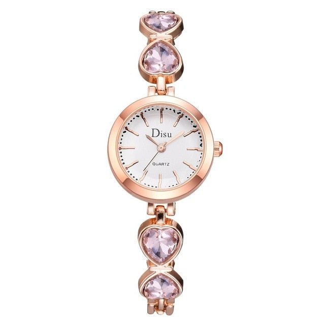 Small Rose Gold Bangle Bracelet Watches