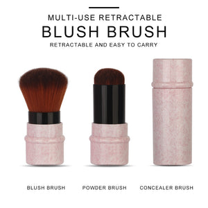 Mini Retractable Foundation Makeup Brush