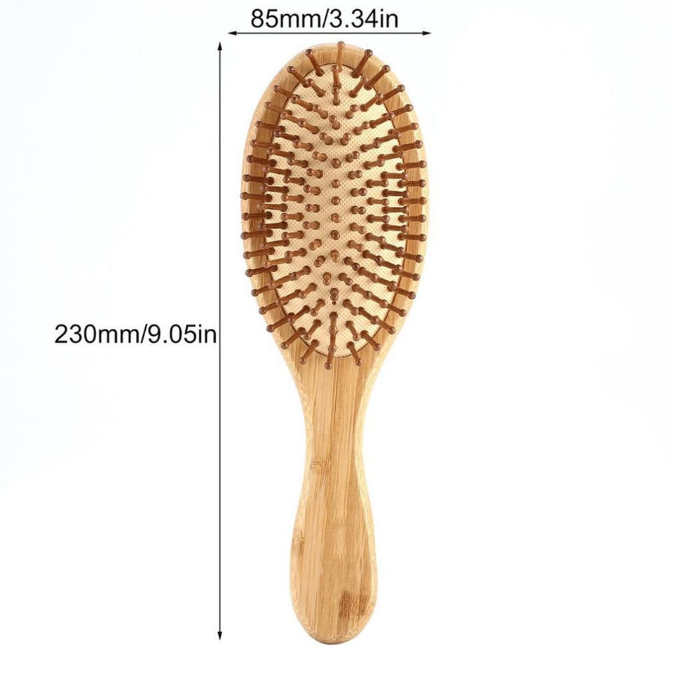 Bamboo Airbag Hair Massage Comb