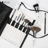 Black/White 31PCS Makeup Brushes Set With Bag