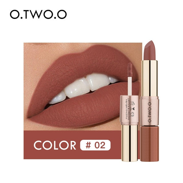 Two In One Waterproof Matte Lipstick